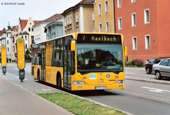 Buslinie 10 Regensburg